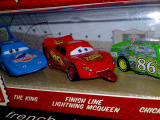 What part is this on the first Disney CARS movie?