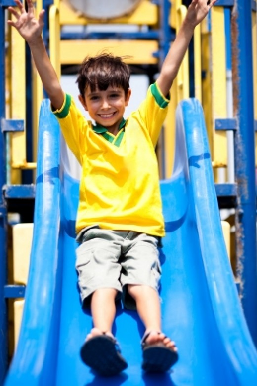 Children need plenty of active play for their mental and physical well-being.