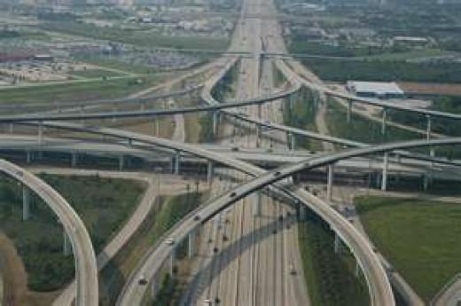 "Big Freeway ""Spaghetti Bowl"""