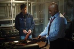 Dean Winchester and Henriksen