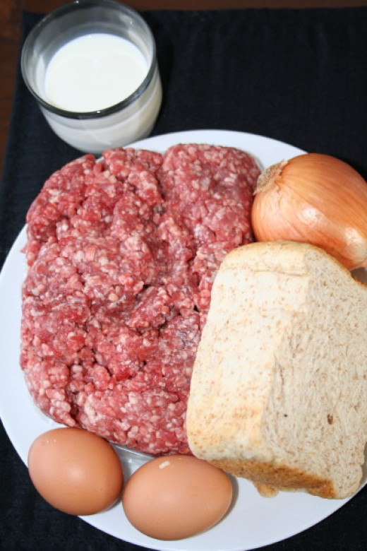 Raw Material for Meatloaf