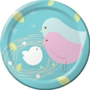 Nesting Birds Lunch/Dinner Plates