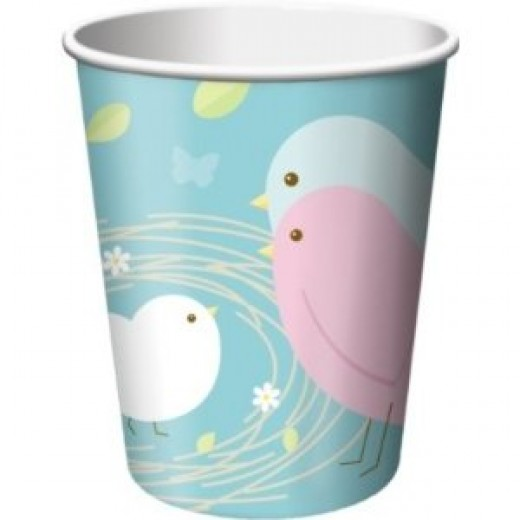 Nesting Birds Hot/Cold Cups