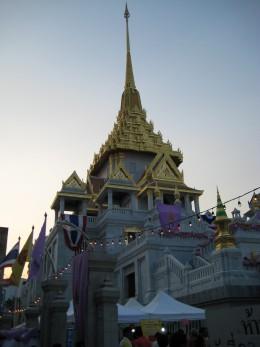 Temple Near Yaowarat