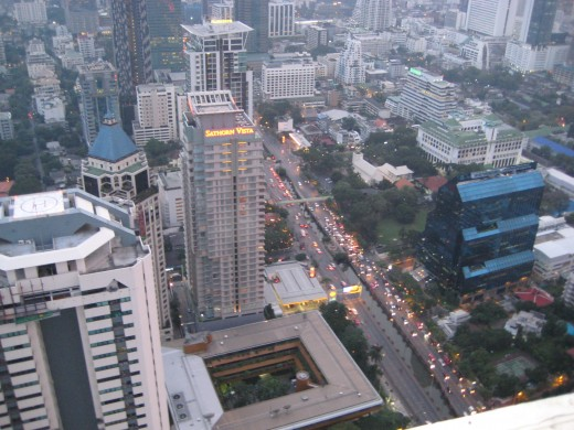 From the Top View of Banyan Tree