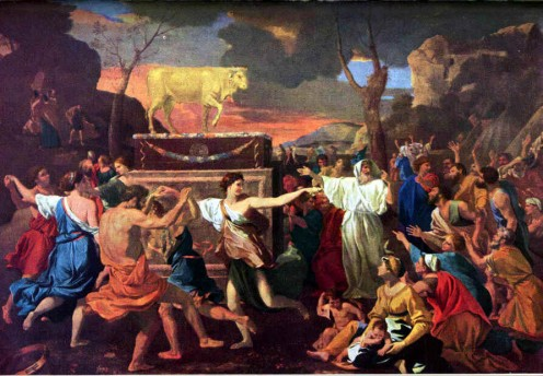 Public Domain ~ Poussin: 15941665 ~ ~ See: http://en.wikipedia.org/wiki/File:GoldCalf.jpg