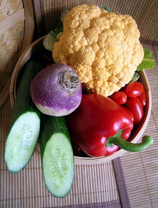 Fresh vegetable gardening includes taking care of garden pests.