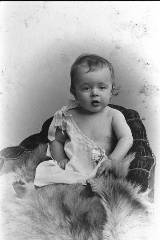 Baby boy, circa 1900.