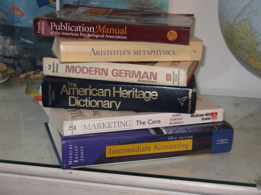 Take some time to familiarize yourself with your textbooks as soon as you get them.