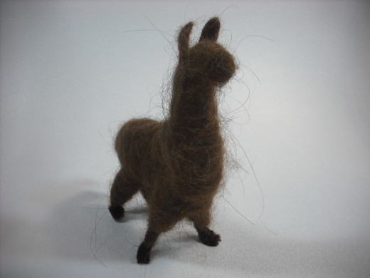 Alpaca: made with alpaca fiber!