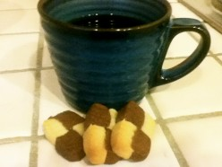 How to Make Fabulous Desserts Using Starbucks Via Instant Coffee: Chocolate Checkerboard Cookies