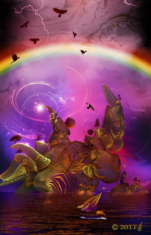 Rainbow Island by Ricky4