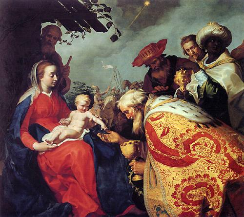 Adoration of the Magi (Matthew 2:11)
