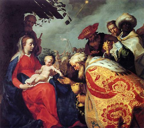 Adoration of the Magi (Matthew 2:11)