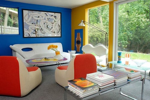 To improve the health of your liver, decorate your room in blue and yellow