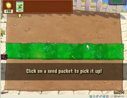 Pick up seeds and defend your garden