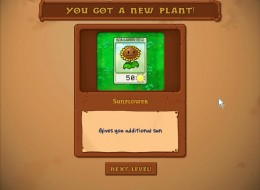 Winning the first wave earns you, the farmer, a new species of killer plant.