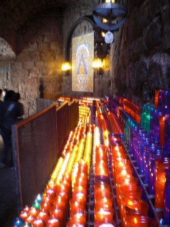The Path of Candles within Montserrat Monastery is itself a revered attraction in the retreat.