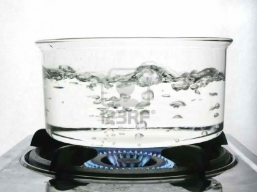 Use only boiled or distilled water