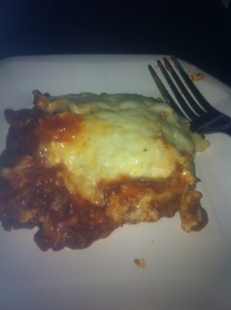 Lasagna from scratch