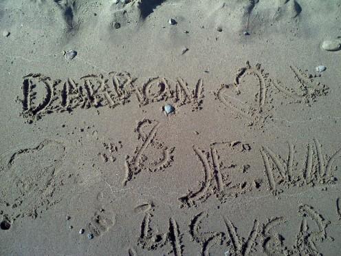 dedicated to Darron and Jenn 2011