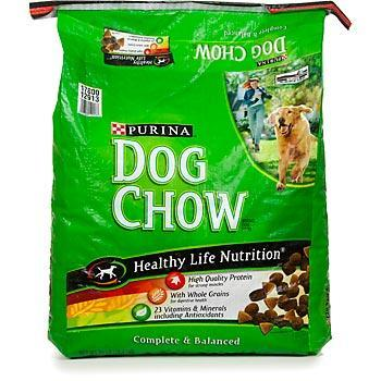 And the Dry Dog Food.