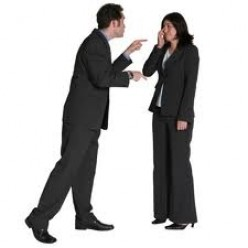 Demeaning you is a sign of an abusive boss.
