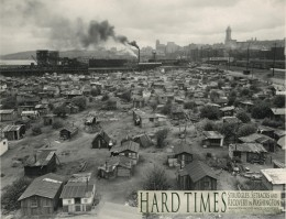 Hooverville Seattle is shown here in a historical photo from the 1930's depression. It is hard to find a contemporary photo of s similar event in the US. However, there is plenty to look at in other countries.