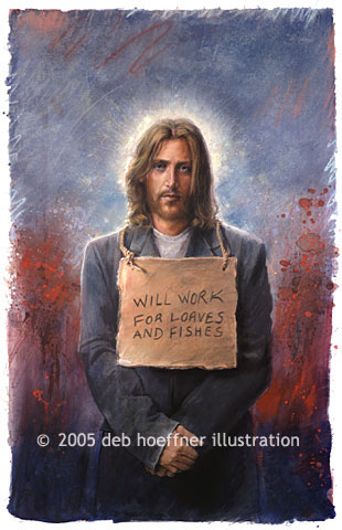 It is said that Jesus spent time homeless during various parts of his life, like during the flight to Egypt and when he wandered in the desert. There are 3.5 million homeless in the US.