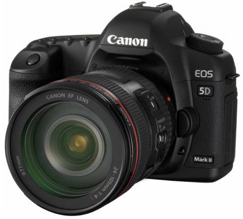 Front View Of 5D Mark II