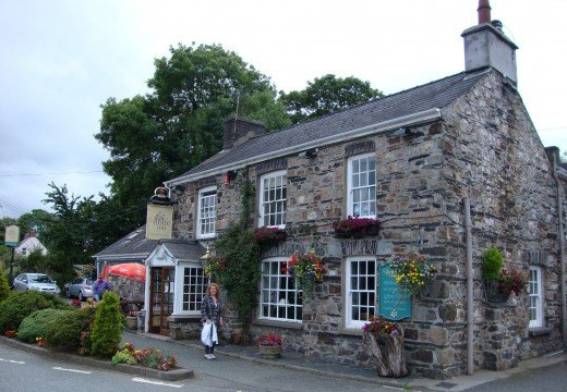 Nice from the outside...The Wolfe Inn in the village of Wolf's Castle, Pembrokeshire, Wales