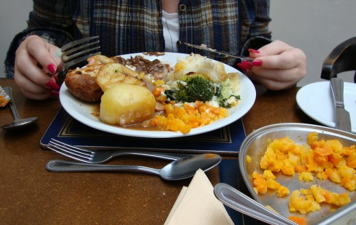 Sunday roast: A notch above aeroplane food but somewhere on a par with Weatherspoons