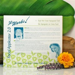 Hydrating Face Mask - Botanical blend tightens and firms for lifting effects. Helps combat the appearance of skin aging and deeply hydrates w/o clogging pores.