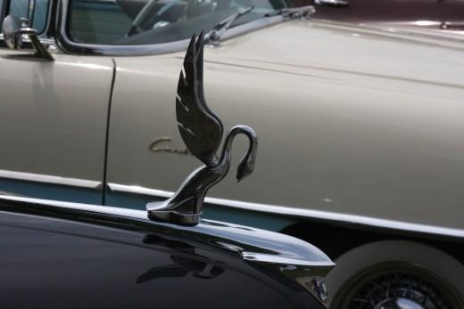 Cormorant Hood Ornament