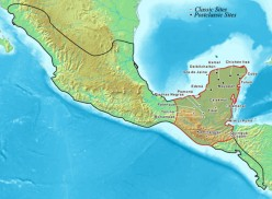 The ancient Mayan empire