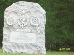 Ohio 5th Cavalry monument.