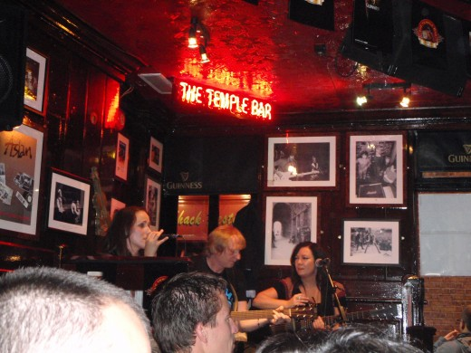 Singing along to Galway Girl, for the this Galway girl at heart.