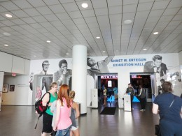 Entrance to the Exhibition Hall.