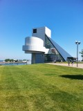 The Rock & Roll Hall of Fame Museum.