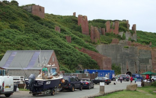 Active: The brickworks may be closed but the port is still used by local fisherman