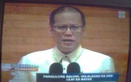 President Benigno Simeon C. Aquino III or P-noy (Photo on TV-2 by Travel Man)