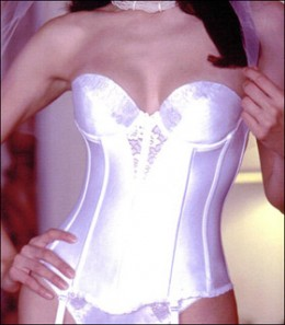 Lovely Satin Bridal Lingerie