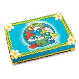 smurfs birthday cakes and party ideas