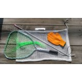 Lobstering Net, Gloves and Tickle Stick