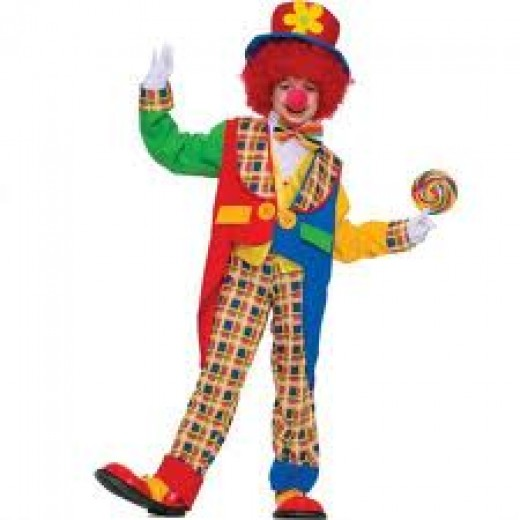 Circus Clowns Coloring Pages Color Example