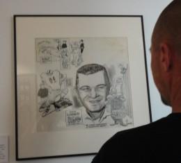 A Vince Lombardi caricature