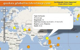 Magnitude 5.9 Earthquake in Manila, Philippines on 25 July 2011