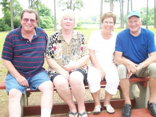 American and Norwegian Families