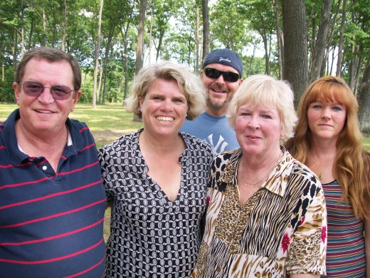 Hilde and her American Family