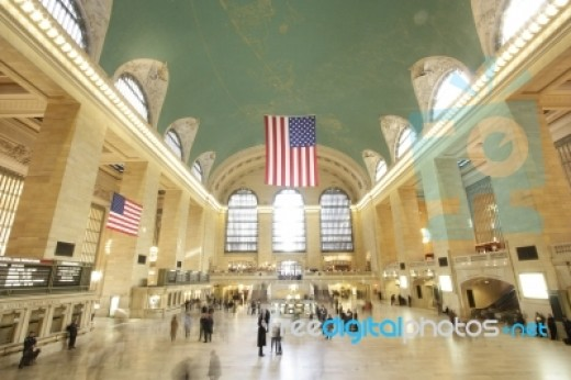 Grand Central, Manhattan, New York. A perfect example of American architecture, this building would not have looked out of place in most of the other major empires.